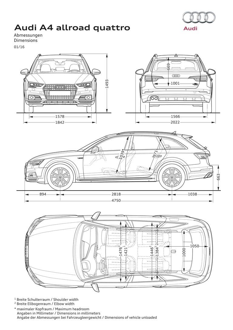 2018 Audi A4 allroad quattro 2.0 TFSI quattro 480467