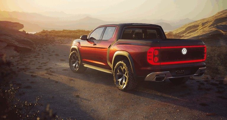 2018 Volkswagen Atlas Tanoak concept 481618