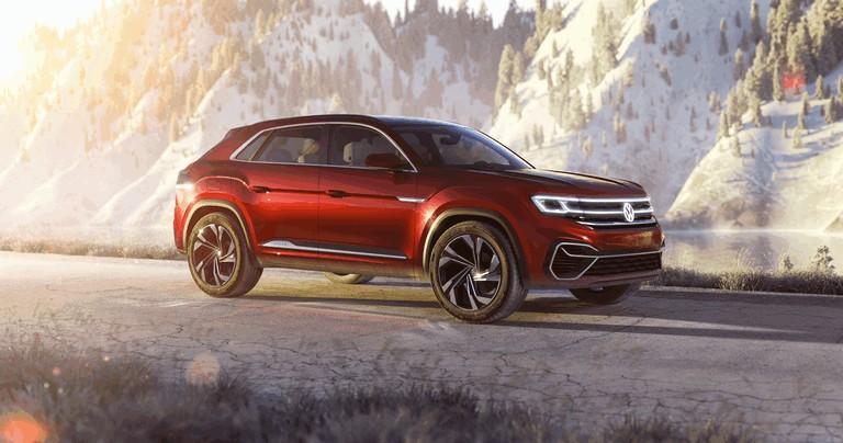 2018 Volkswagen Atlas Cross Sport concept 481626