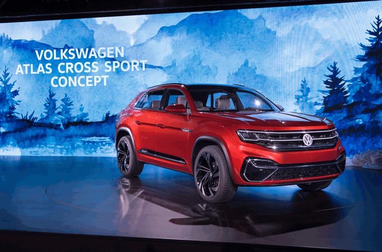 2018 Volkswagen Atlas Cross Sport concept 481633