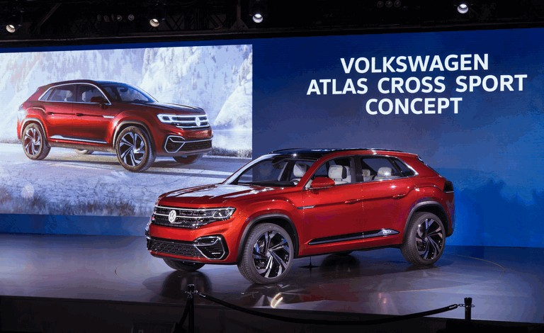 2018 Volkswagen Atlas Cross Sport concept 481634
