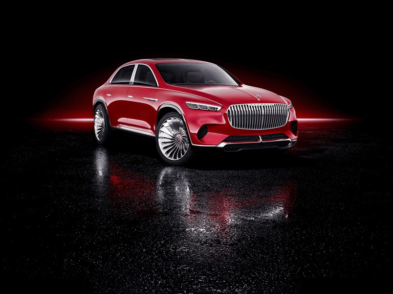 2018 Mercedes Maybach Ultimate Luxury Vision Free high
