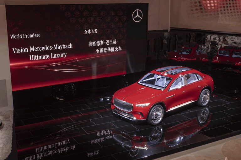 2018 Mercedes-Maybach Ultimate Luxury Vision 481670