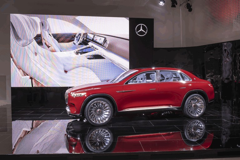 2018 Mercedes Maybach Ultimate Luxury Vision #481674 Best
