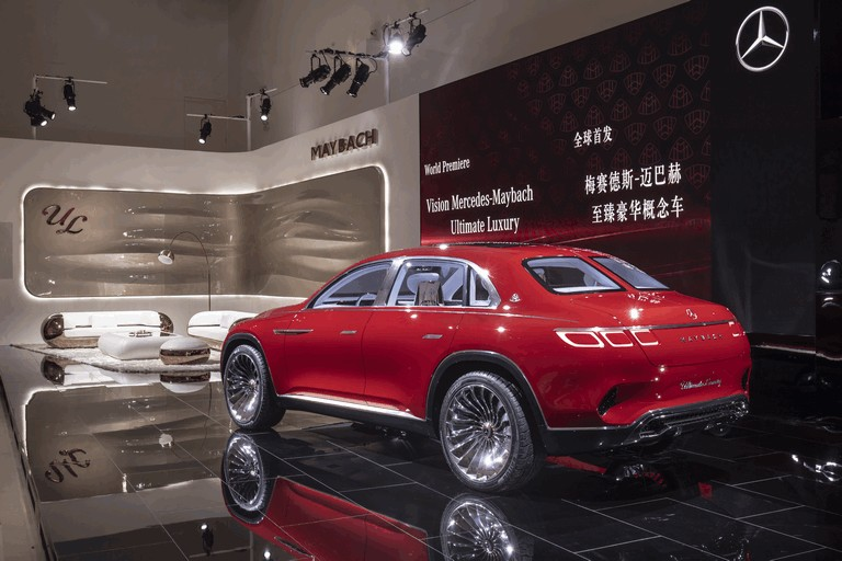 2018 Mercedes Maybach Ultimate Luxury Vision #481676 Best