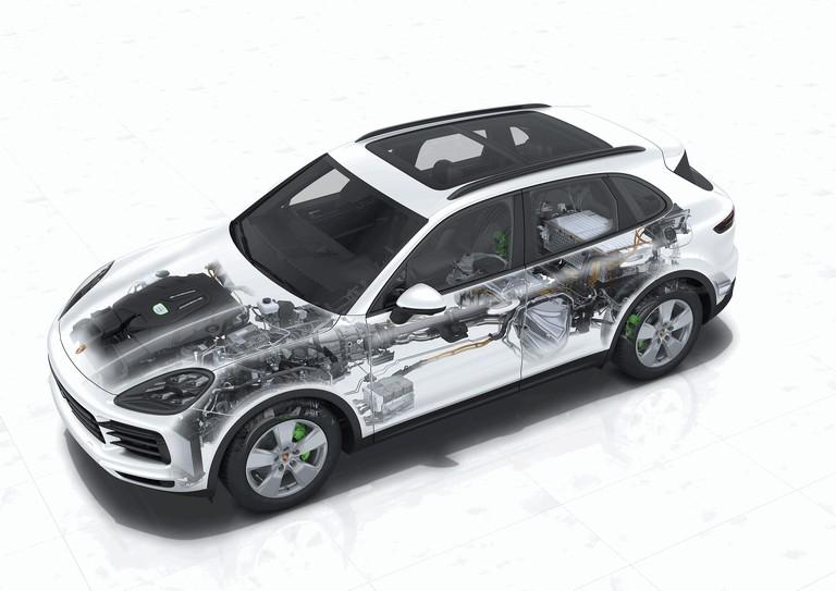 2019 Porsche Cayenne E-hybrid 491526