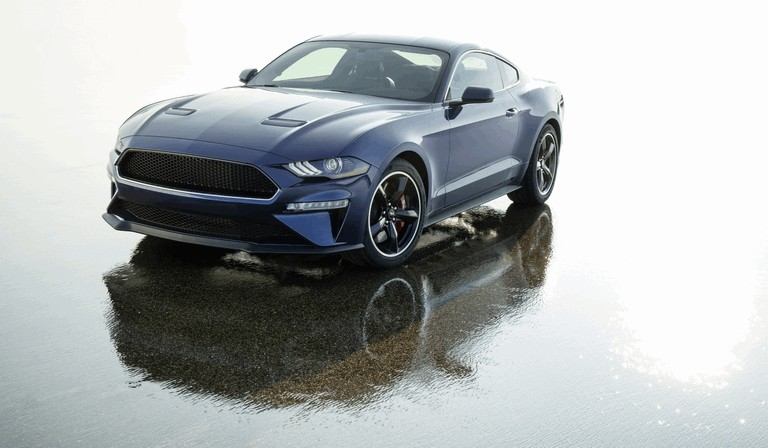 2018 Ford Mustang Bullitt - kona blue edition 501366