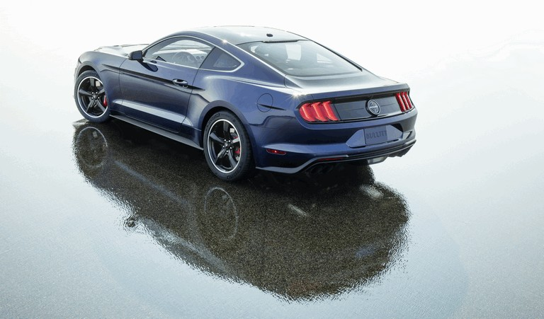 2018 Ford Mustang Bullitt - kona blue edition 501367