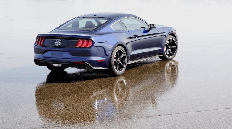2018 Ford Mustang Bullitt - kona blue edition 501369