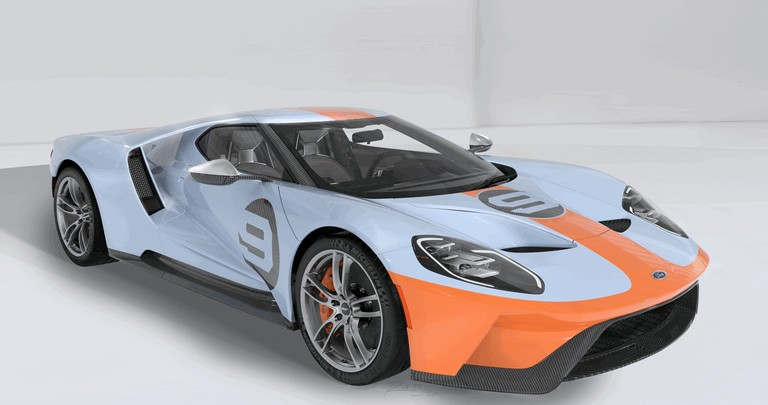 2019 Ford GT Heritage edition 505722