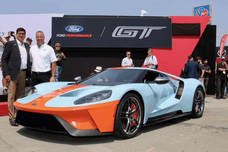 2019 Ford GT Heritage edition 505734