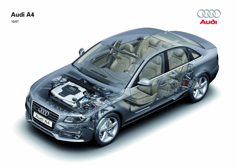2008 Audi A4 226808
