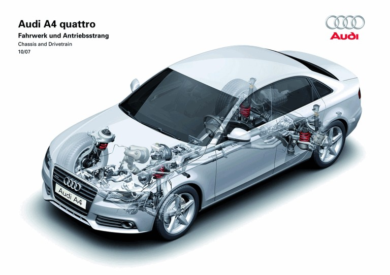 2008 Audi A4 226809