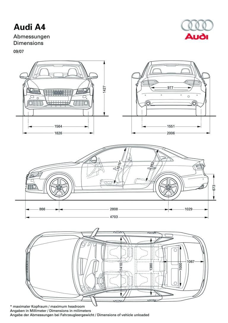 2008 Audi A4 226819