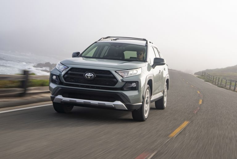 2019 Toyota RAV4 Adventure - Lunar rock 520507