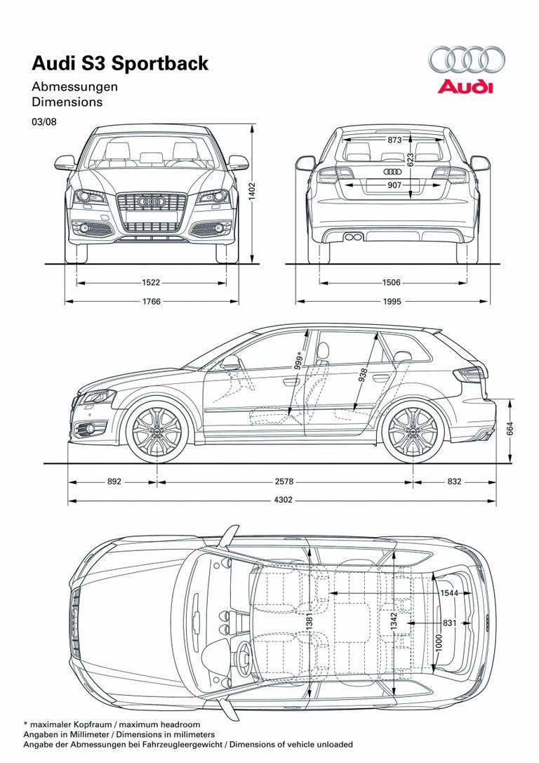 2008 Audi S3 sportback 227145