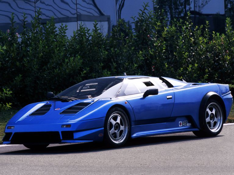 1990 Bugatti EB110 prototype 522885