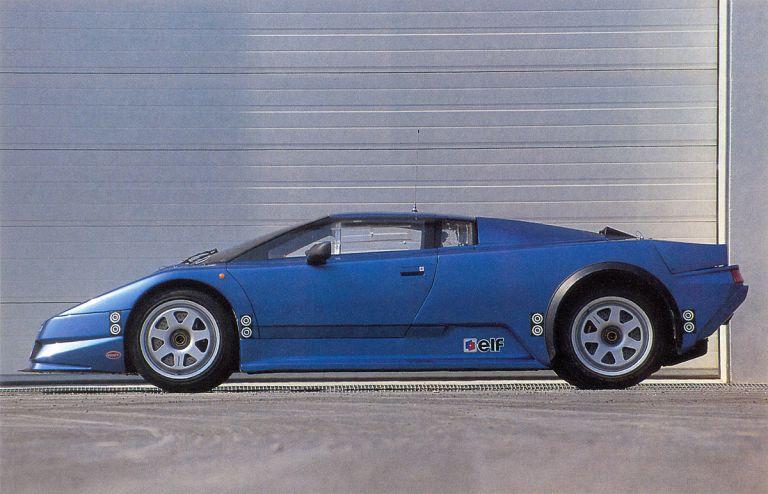 1990 Bugatti Eb110 Prototype Free High Resolution Car Images