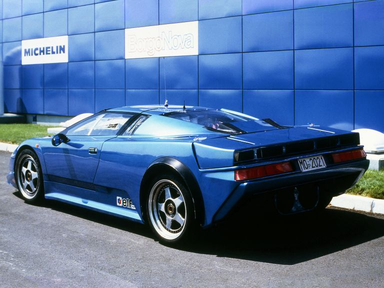 1990 Bugatti EB110 prototype 522887