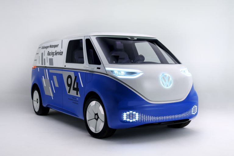 2019 Volkswagen I.D. Buzz Cargo concept 523143