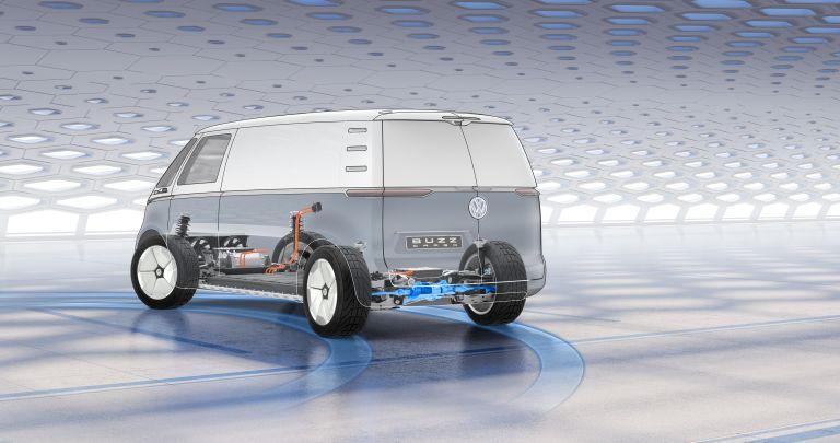 2019 Volkswagen I.D. Buzz Cargo concept 523156