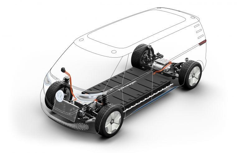 2019 Volkswagen I.D. Buzz Cargo concept 523157