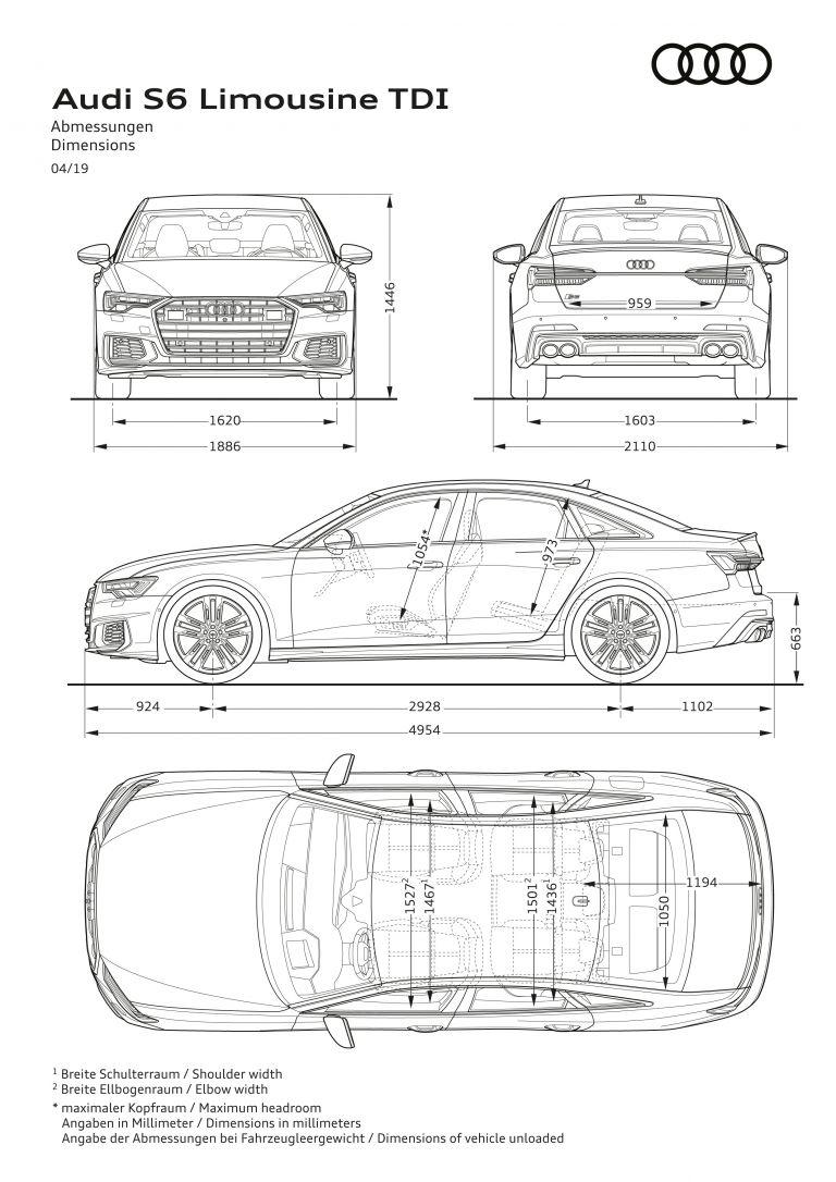 2020 Audi S6 Sedan TDI 542221