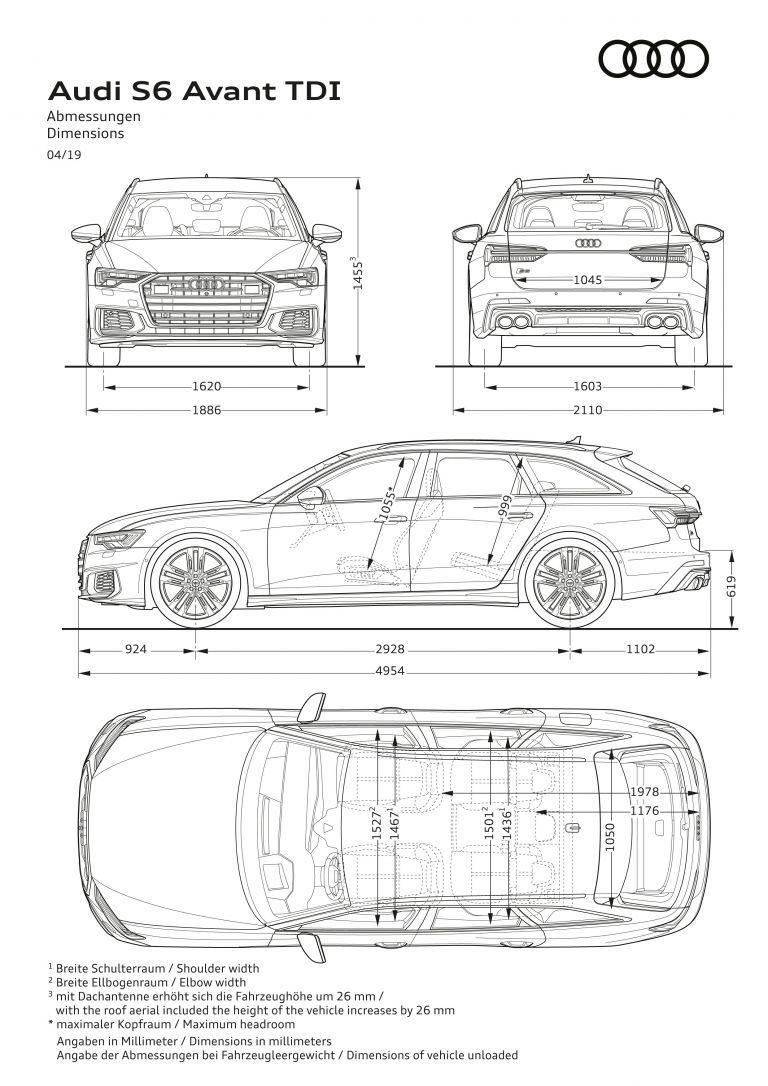 2020 Audi S6 Avant TDI 542247