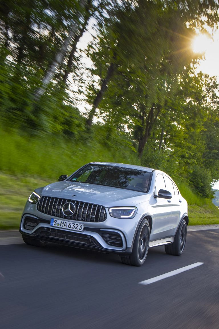 Mercedes Benz Glc Coupe Wallpapers Wallpaper Download Free