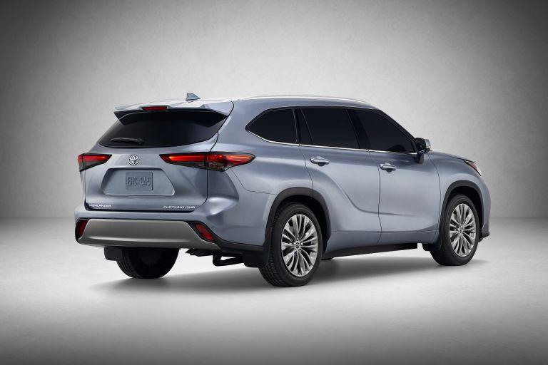 2020 Toyota Highlander Platinum AWD 543868