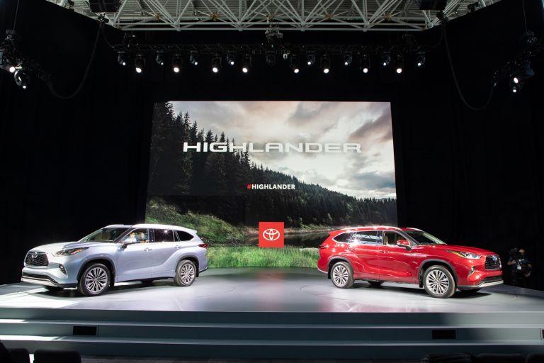 2020 Toyota Highlander Platinum AWD 543873