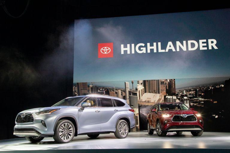 2020 Toyota Highlander Platinum AWD 543874