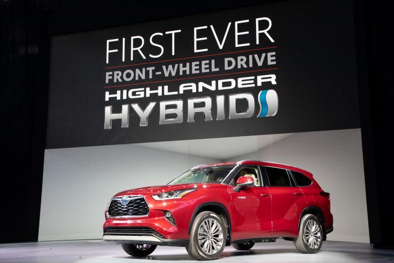 2020 Toyota Highlander Platinum AWD 543875