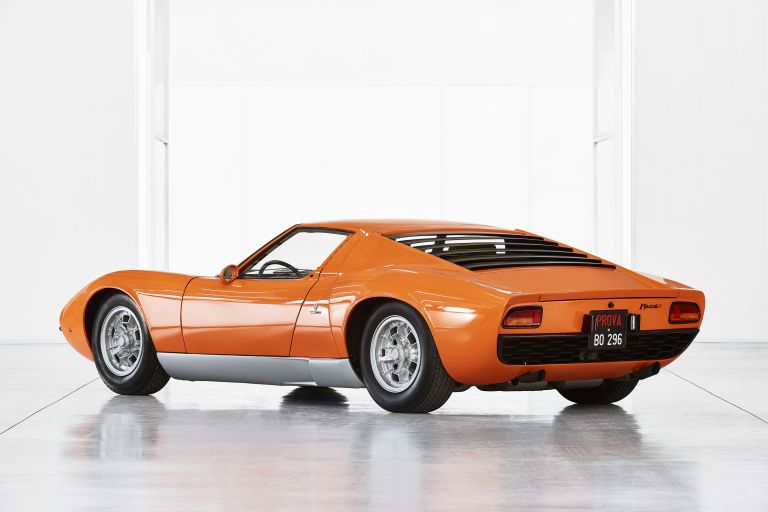 1969 Lamborghini Miura P400 - chassis 3586 544702