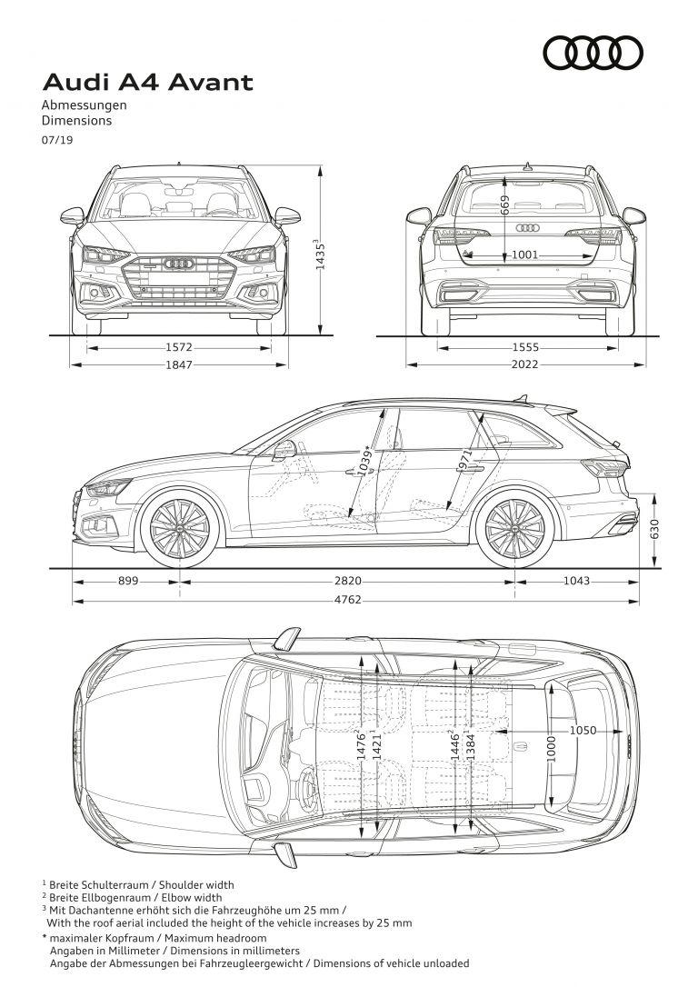 2019 Audi A4 Avant 553844