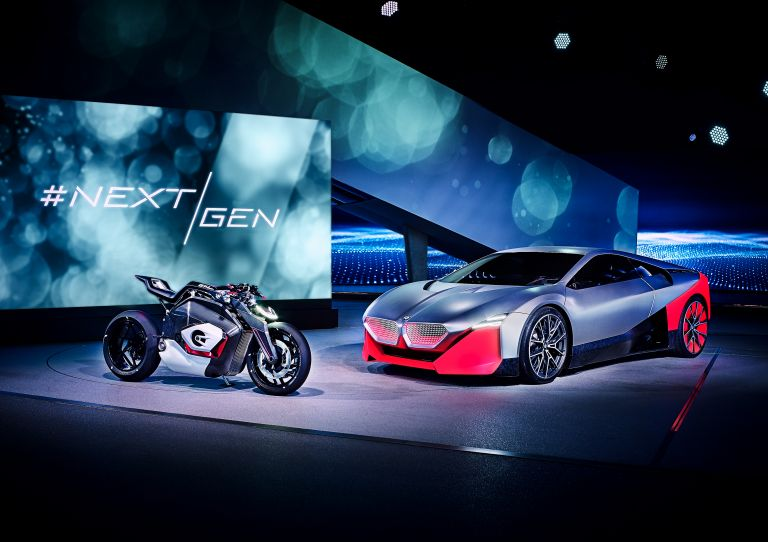2019 BMW Vision M Next concept 550158