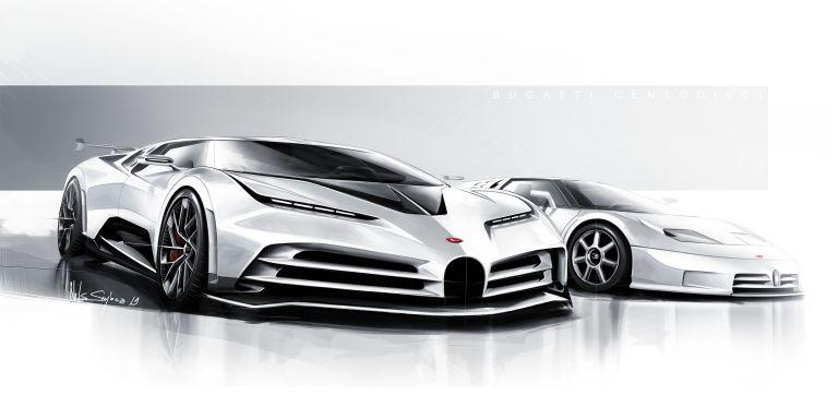 2020 Bugatti Centodieci 559198