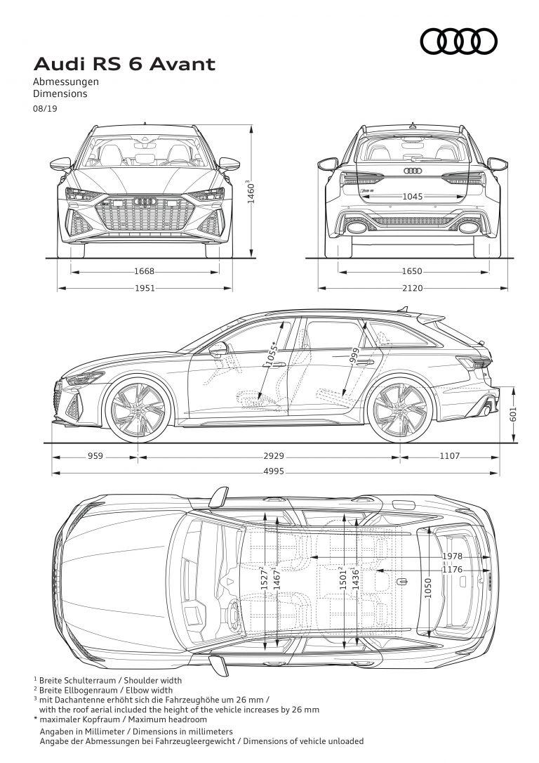 2020 Audi RS 6 Avant 569888