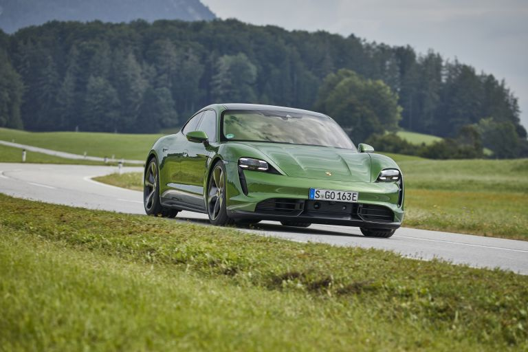 2020 Porsche Taycan turbo S 563502