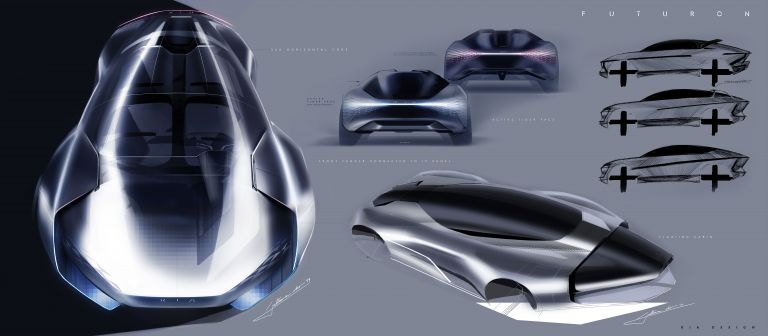 2019 Kia Futuron concept 570186