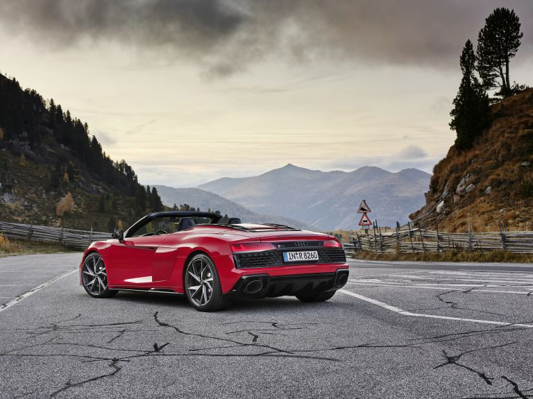 2020 Audi R8 V10 RWD spyder 567386