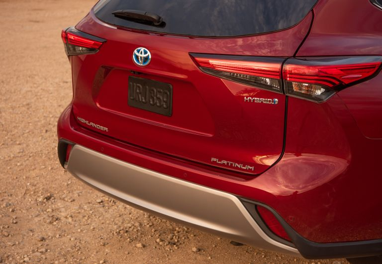 2020 Toyota Highlander Platinum Hybrid AWD 573178