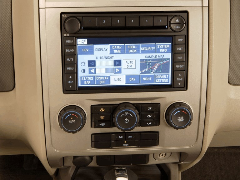 2008 Ford Escape Limited 4WD 228736