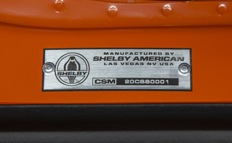 2020 Ford Mustang Carroll Shelby Signature Series 578943