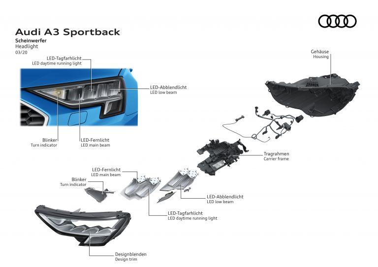 2020 Audi A3 sportback 584650