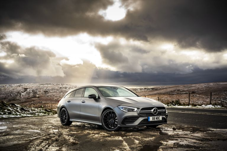2020 Mercedes-AMG CLA 35 4Matic Shooting Brake - UK version 582102