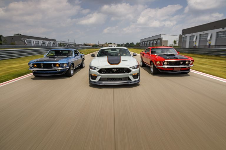 2021 Ford Mustang Mach 1 588288