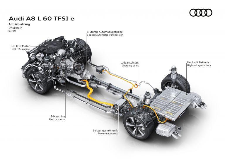 2020 Audi A8 L 60 TFSI e quattro - UK version 590612