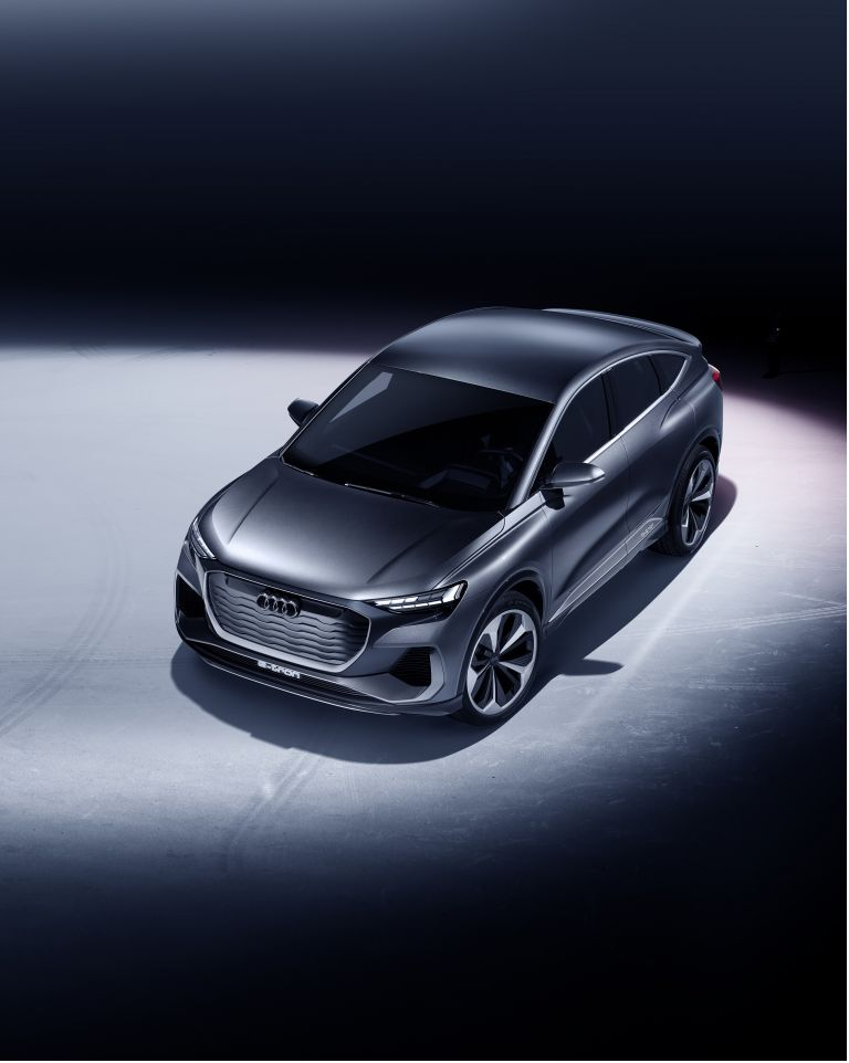 2020 Audi Q4 Sportback e-tron concept 590661