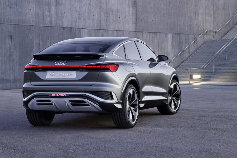 2020 Audi Q4 Sportback e-tron concept 590676